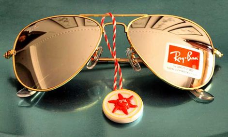 Ray Ban RB 3025 Gold - Mirror - Brown napszemüveg 353ba7bd9b