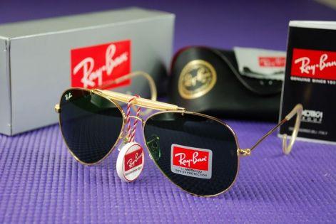 Ray Ban RB 3030 OUTDOORSMAN Gold napszemüveg efb93795e2